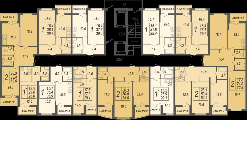 3 этаж